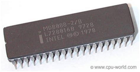 Siemens Sab8088 2 P Microprocessor Vintage 1978 Cpu Sab 8088 2 P 8088 intel 8088 microprocessor family