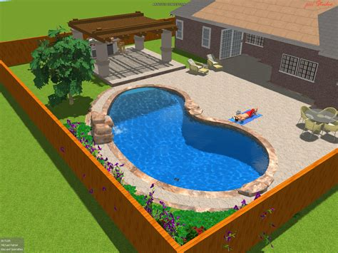 pool plans by design 3d pool design mapo house and cafeteria