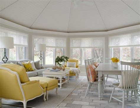 yellow sunroom pictures sunroom dining room with vaulted glass ceiling