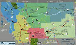 State Of Montana Map by Large Map Of Montana For Pinterest