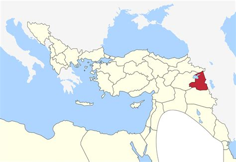 Van Vilayet Wikipedia Where Is Ottoman Empire