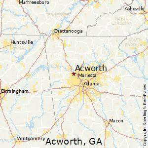 best places to live in acworth