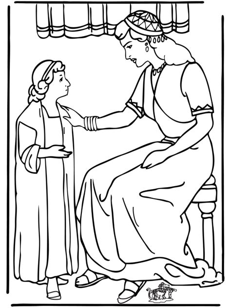 free bible coloring pages naaman servant na 228 testament