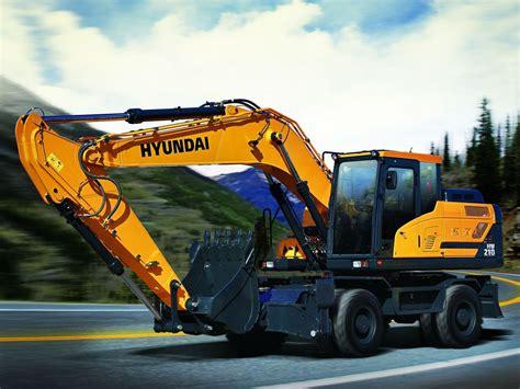 hw wheeled excavator