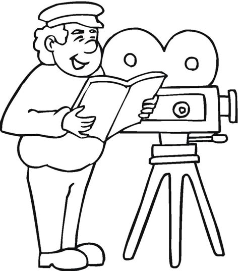 Best Director Also Search For Creative Director Colouring Pages Picolour