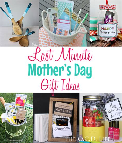 Last Minute S Day Gift Ideas Last Minute Mother S Day Gift Ideas