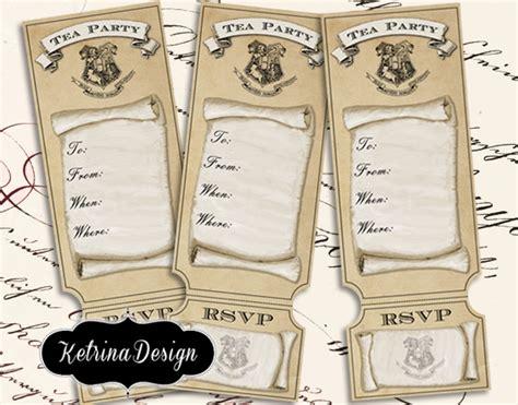 Harry S Detox Tea by Harry Potter Hogwarts Tea Tickets By Ketrinadesign
