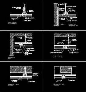 knauf details dwg knauf system construction details in autocad drawing