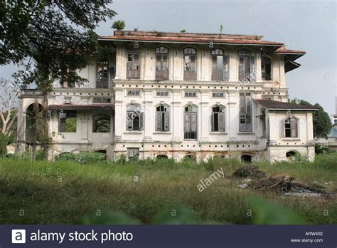 colonial mansion abandoned colonial mansion georgetown penang malaysia