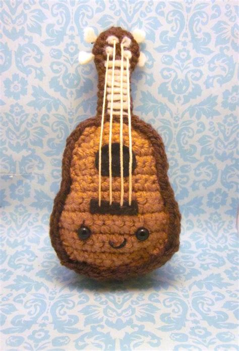 amigurumi guitar pattern 17 best images about amigurumi strumenti musicali on