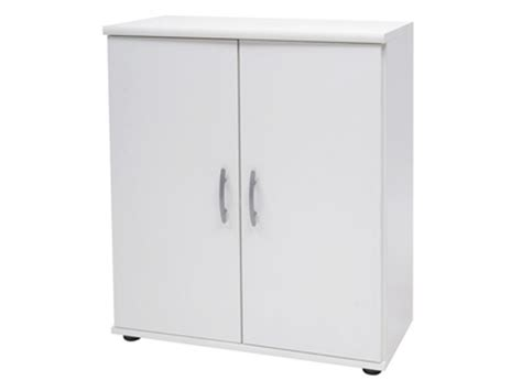 Meuble 2 Porte by Meuble 2 Portes Lilly 10 Blanc