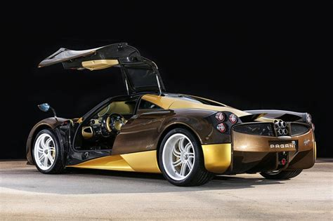 pagani huayra gold bingo sports receives a very special pagani huayra