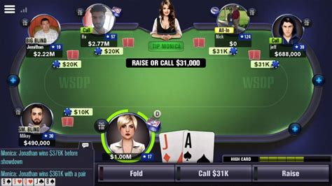 lose  world series  poker wsop app game youtube