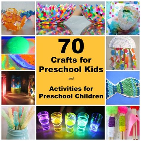 craft projects for toddlers and preschoolers 70 crafts for preschool and activities for preschool