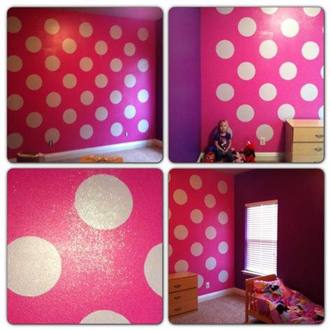 paint polka dots bedroom wall pin by trisha mchugh on for the home pinterest