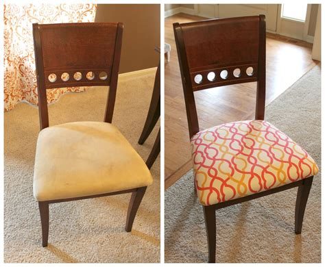 How To Recover A Dining Room Chair by How To Reupholster A Dining Room Chair Fortikur