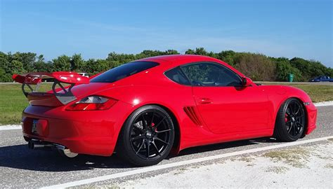 Porsche Cayman Rear Wing by Porsche 987 Cayman Nr Gt3 Rs Style Wing Nr Automobile