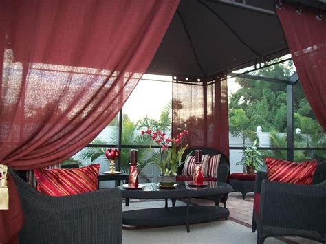 indoor patio curtains patio pizazz indoor outdoor gazebo drapes curtains price
