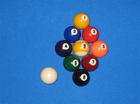 racked pool balls pool balls racked