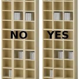 billy bookcase modification improved ikea benno cd shelf