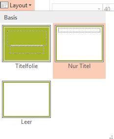 powerpoint layout nur für eine folie powerpoint ohne platzhalter zu besseren folien nicola