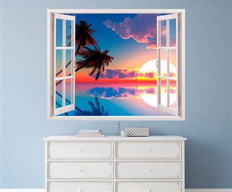 imagenes de paisajes vistos desde una ventana 10 vinilos de ventanas con vistas para paredes blog de
