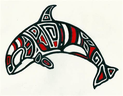 tribal tattoos killer whale orca killer whale