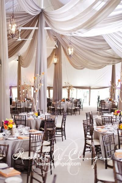 Swept Ceiling Wedding Tent Draping Toronto Wedding Decor Wedding Tent Ceiling Decor