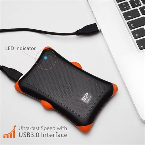 silicon power rugged armor a30 sublime gadgets silicon power 1tb rugged armor a30 grade drive sublime gadgets