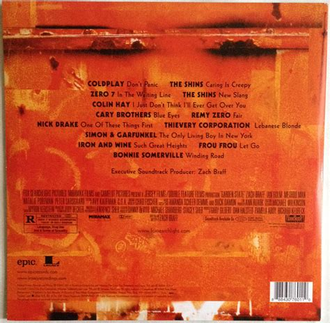 Garden State Soundtrack by Reissue Review Various Artists Garden State Ost Modern Vinyl