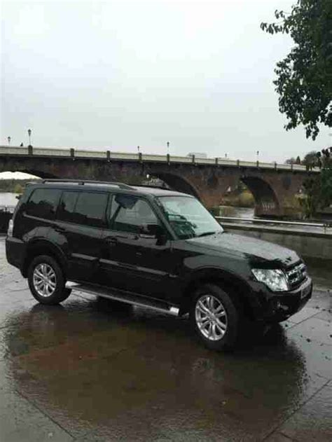mitsubishi black cars mitsubishi 2014 shogun sg3 di d lwb auto black car for sale