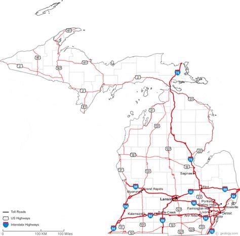michigan map map of michigan