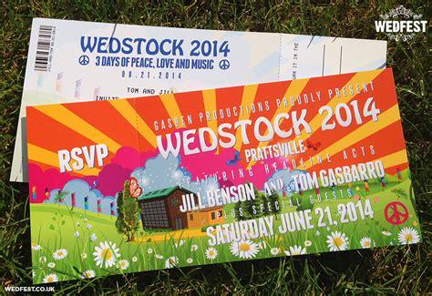 Festival Wedding Invites   WEDFEST