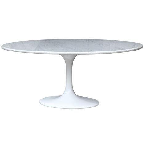 saarinen 78 oval table saarinen style 78 quot tulip oval marble dining table