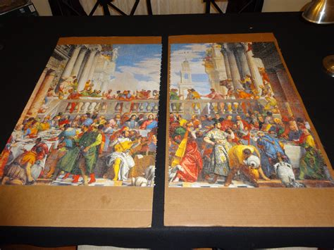 Wedding At Cana Puzzle by 4000 Pieces Clementoni Wedding At Cana Jigsaw Puzzle
