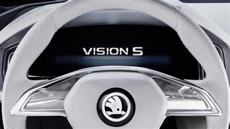 skoda vision  logo wallpapers hd wallpapers id