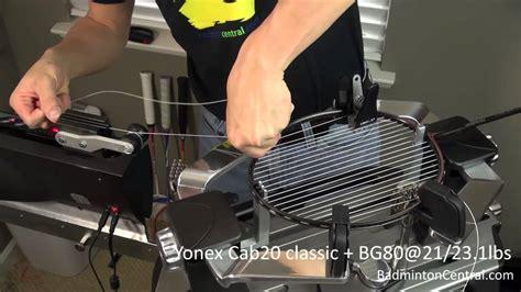 Raket Adidas Yonex Carbonex 20 Bg80 21 23 1lbs Badminton Stringing