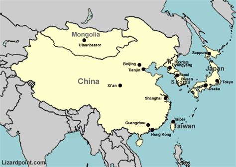 asia map china test your geography knowledge asia major cities in