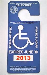 how much is a permit to move a mobile home view from the handicapped space disabled parking placards