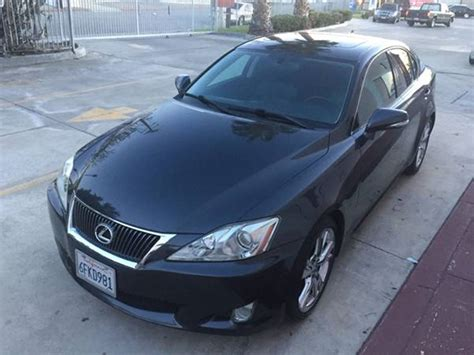 lexus is for sale by owner used 2009 lexus is 250 car sale in whittier ca