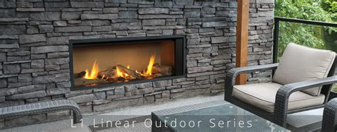linear outdoor fireplace l1 linear outdoor valor fireplace barnhill
