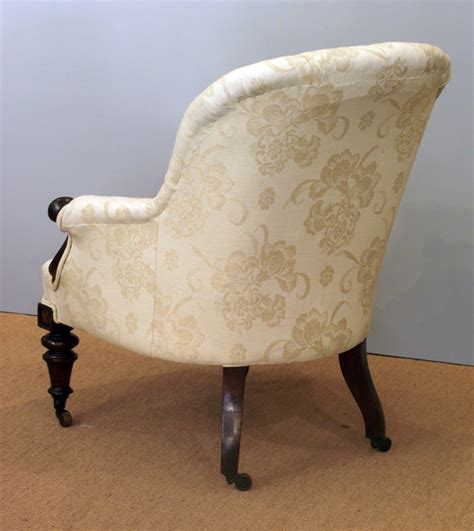 button back armchair antique arm chair