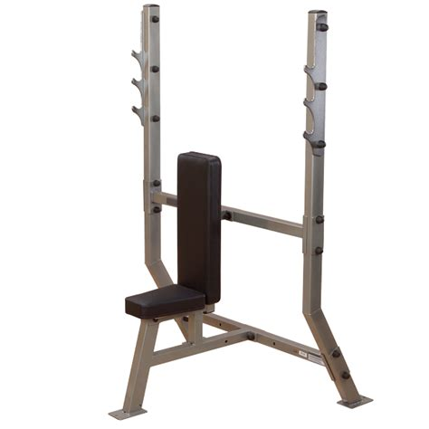 shoulder press bench spb368g shoulder press olympic bench body solid fitness