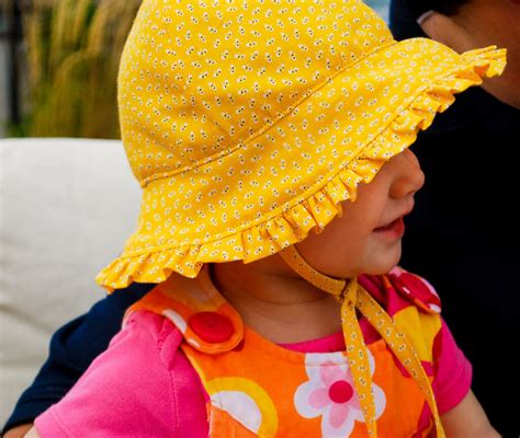 Bonnet Baby 1 free baby bonnet pattern baby sun hat sewing pattern with