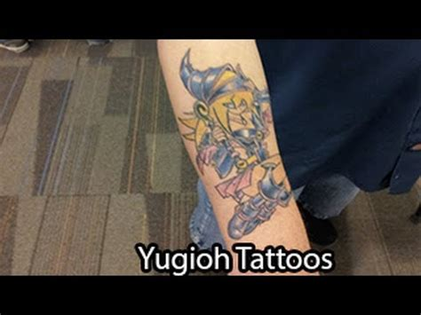 yugioh tattoos youtube