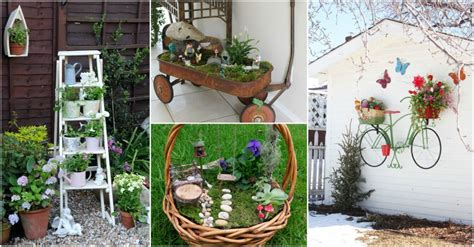 Affordable Garden Decor Diy Cheap Garden Decor To Bring A Whole New Look