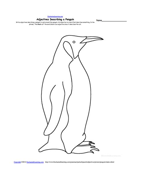 enchanted learning emperor penguin html autos post