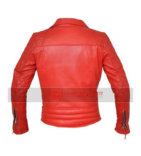 red motorcycle jacket classic red motorcycle jacket