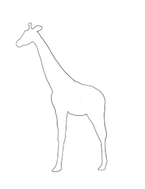 giraffe template for children giraffe spot project