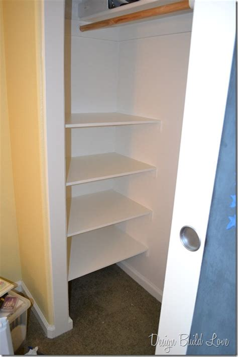 simple steps  create cheap easy built  closet